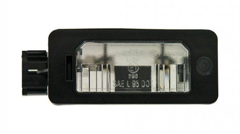 Lampa numar Bmw Seria 3 (E46) Coupe/Cabrio 05.1999-09.2006 Model M3, Seria 3 (E90/E91) 11.2004-08.2008, Seria 5 (E39) 01.1996-06.2004 Sedan, Seria 5 (E60/E61) 06.2003-06.2010, X5 (E70) 10.2006-11.2013