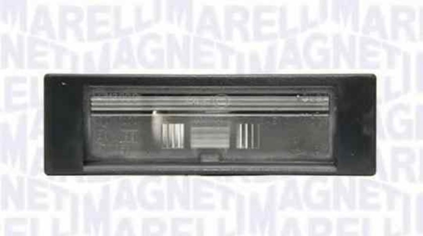 Lampa numar inmatriculare ALFA ROMEO 147 (937) MAGNETI MARELLI 715105104000