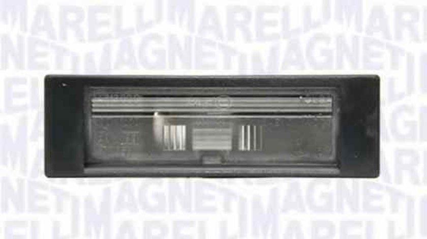 Lampa numar inmatriculare ALFA ROMEO 159 (939) MAGNETI MARELLI 715105104000