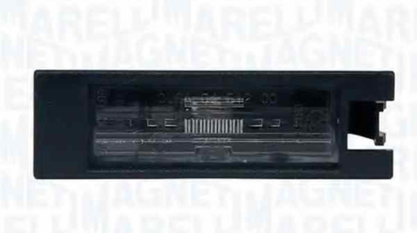 Lampa numar inmatriculare OPEL ASTRA G caroserie F70 MAGNETI MARELLI 715105100000