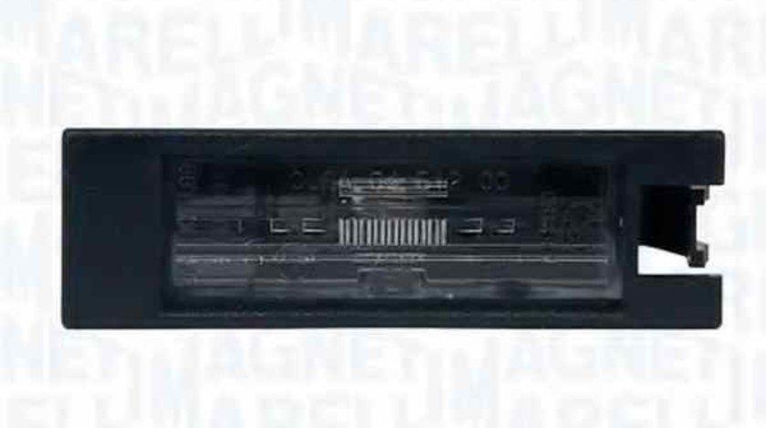 Lampa numar inmatriculare OPEL VECTRA C GTS MAGNETI MARELLI 715105100000