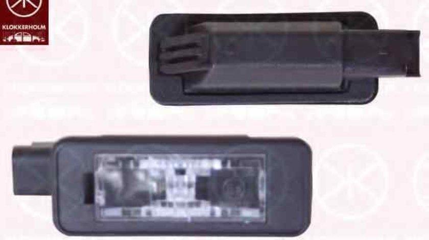 Lampa numar inmatriculare PEUGEOT 208 PEUGEOT 6340 G3