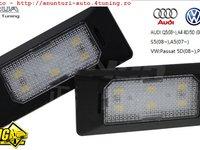Lampa numar LED Audi Q5 A4 A5 S5 TT VW Passat 5 usi