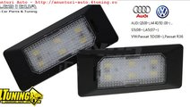 Lampa numar LED Audi Q5 A4 A5 S5 TT VW Passat 5 us...