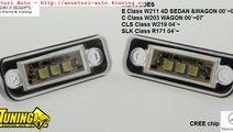 Lampa numar LED Mercedes Benz E Class W211 4D C Cl...