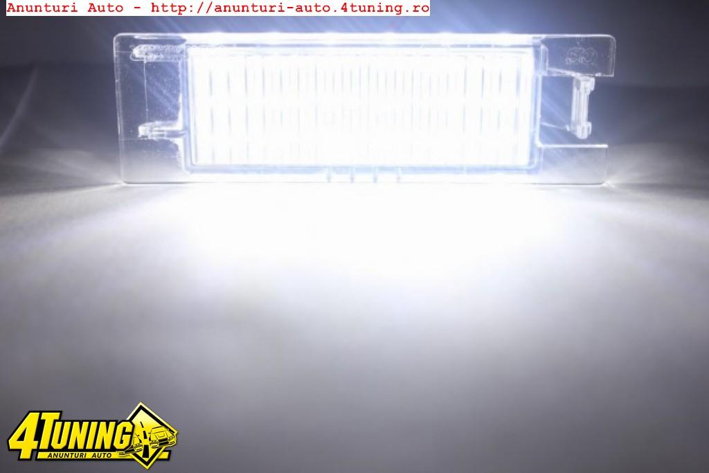 Lampa numar LED OPEL Zafira B Astra H Astra J Corsa D Insignia