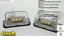 Lampa numar led PEUGEOT 206 207 307 406 CITROEN c3...