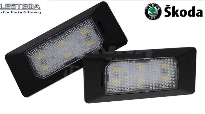 Lampa numar LED Skoda Octavia 3 III , Superb 2 , Rapid