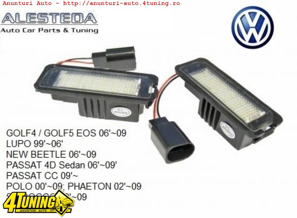 Lampa numar led VW Golf 4 Passat Beetle Phaeton Eos Scirocco Lupo