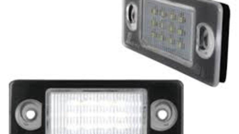Lampa numar Skoda Octavia 2 1Z5 Model COMBI 2004-2012, Roomster / Praktik 2006-2010, omologare ECE, 1Z0 943 021B, Stanga , Dreapta