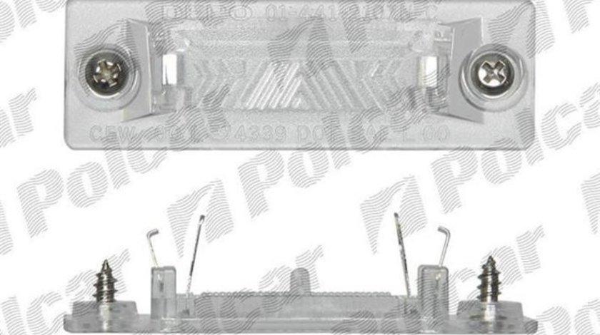 Lampa numar Skoda Superb 2002-2008 Vw Caddy 2004- Jetta 2005-2010; GOLF 5 PLUS, Passat B5 2000-2005 Sedan, Passat B6 2005-2007 Combi, Touran 2003-2010 Transporter 5, T5, T6 (modele cu 2 usi) stanga/