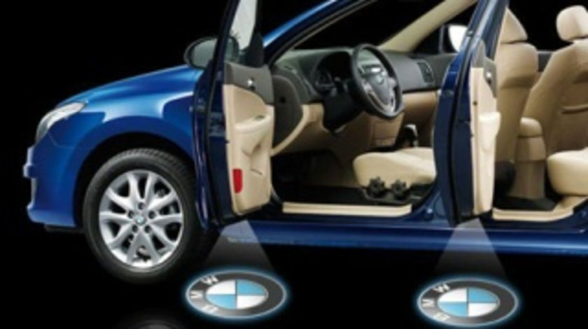 LAMPA PENTRU PORTIERA CU HOLOGRAMA LOGO BMW -COD LOG-BMW