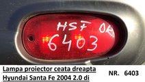 Lampa proiector ceata dreapta Hyundai Santa Fe