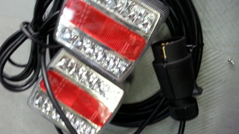 Lampa remorca cu led si cablu de conectare la masina