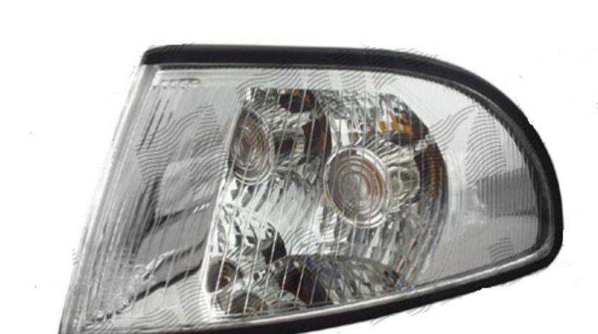 Lampa semnalizare fata Audi A4 (B5) model S4 1994-1998/, BestAutoVest partea stanga silver-transparent , cu suport bec Kft Auto