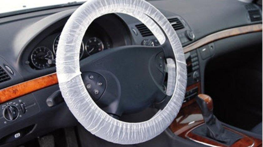 Lampa set 100 huse plastic protectie volan