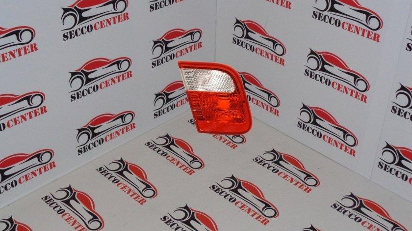 Lampa spate stop BMW Seria 3 E46 1998 1999 2000 2001 rosu alb interior stanga