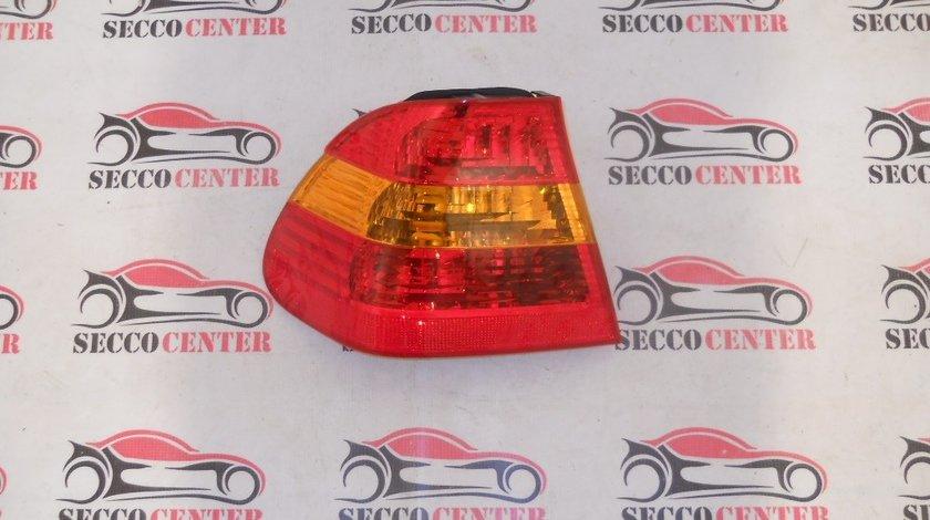 Lampa spate stop BMW Seria 3 E46 2001 2002 2003 2004 2005 rosu galben exterior stanga