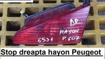 Lampa stop dreapta hayon Peugeot 607