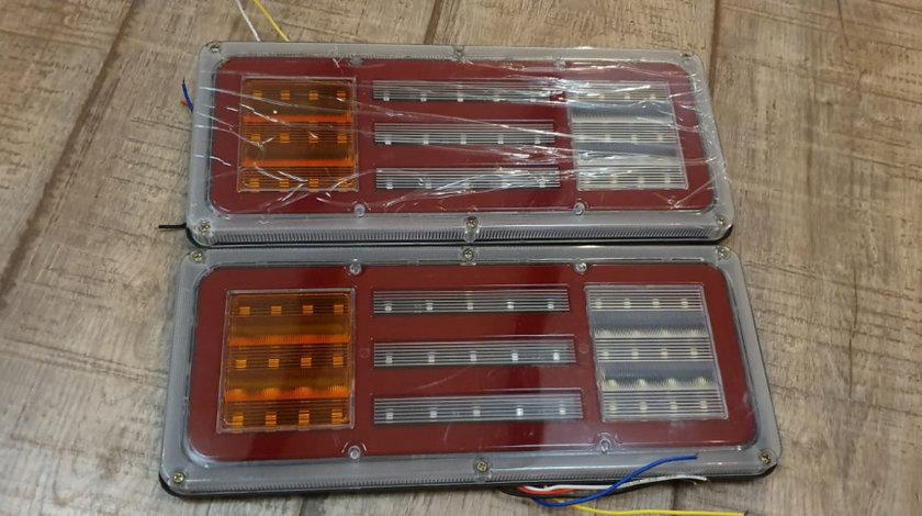 Lampa stopuri LED basculabila autoutilitara iveco,renault,vw,mercedes,fiat,,peugeot,ford