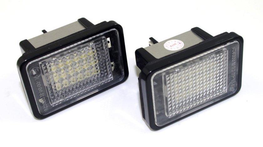 Lampi cu LED Mercedes GLK X204 - lampi numar