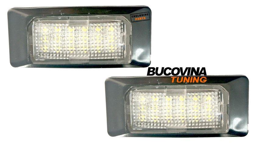 LAMPI CU LED PENTRU NUMARUL DE INMATRICULARE AUDI A4 B9 (Dupa-15)