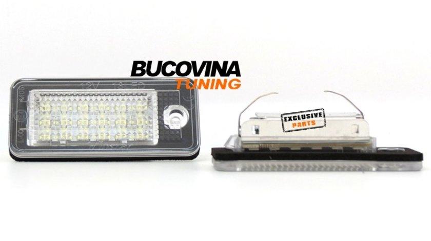 LAMPI CU LED PENTRU NUMARUL DE INMATRICULARE AUDI A3