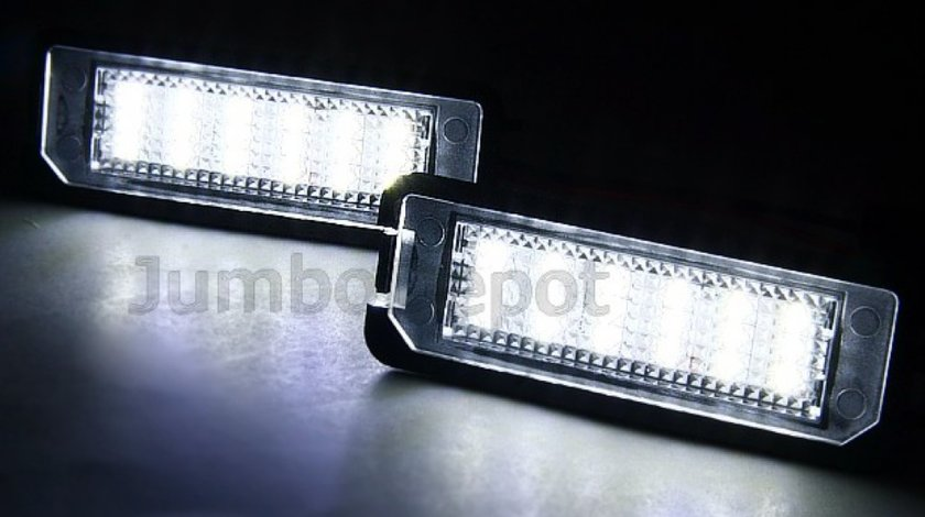 Lampi cu leduri numar de imatriculare VW AUDI SEAT MERCEDES Benz BMW