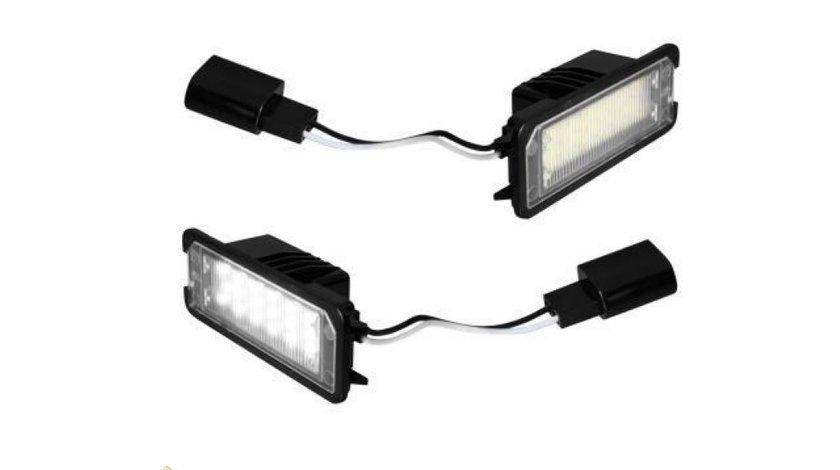 Lampi cu leduri pentru numarul de imatriculare VW AUDI Skoda Seat BMW Mercedes