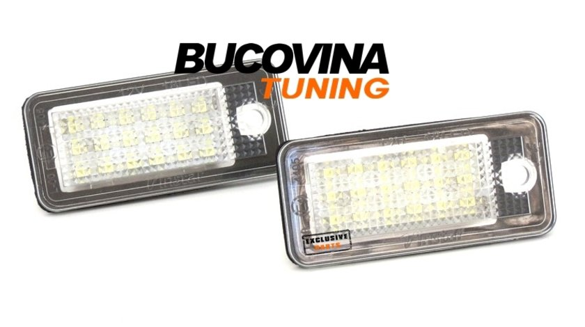 LAMPI LED NUMAR AUDI A4 B7 (2004-2007)