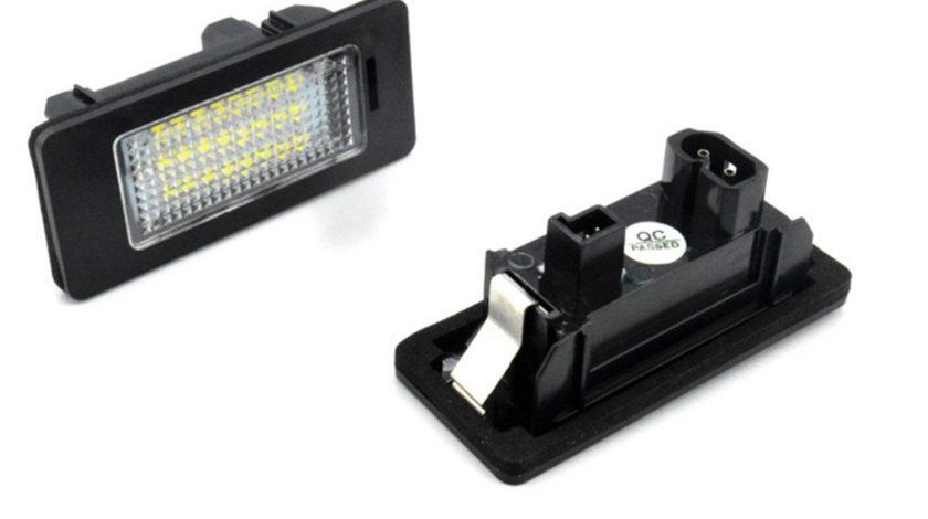 Lampi LED numar auto, pentru BMW, set 2 bucati, fara eroare de bec ars