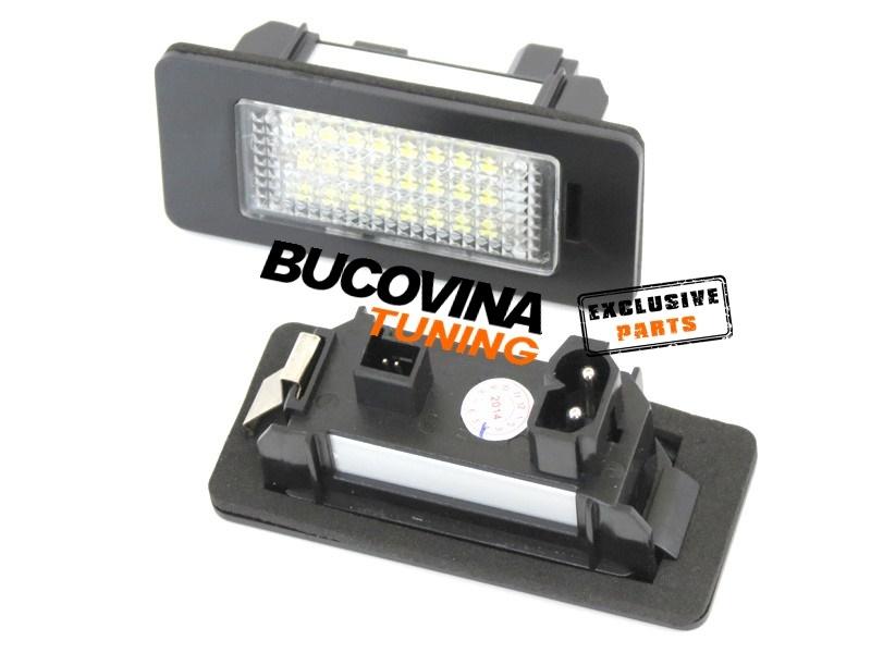 LAMPI LED PENTRU NUMARUL DE INMATRICULARE BMW F10 Seria 5