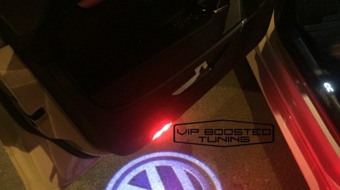 LAMPI LED Proiector cu logo dedicat VW Golf 6 PLUS