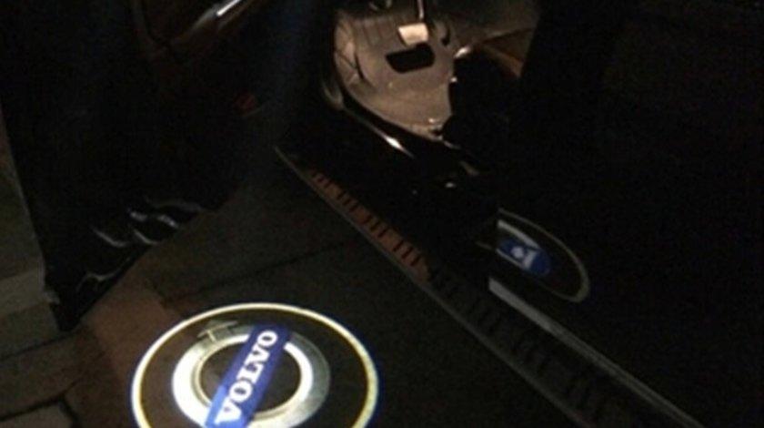 LAMPI LED PT PORTIERE CU LOGO VOLVO C30, V60, S60, S80, XC70, XC90