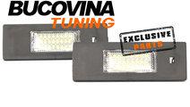 Lampi numar cu LED BMW Seria 1 E87/ E81 (04-12)