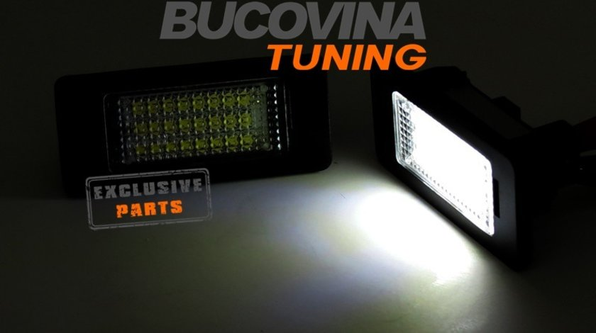 Lampi numar cu LED BMW X1 E84 (09-14)