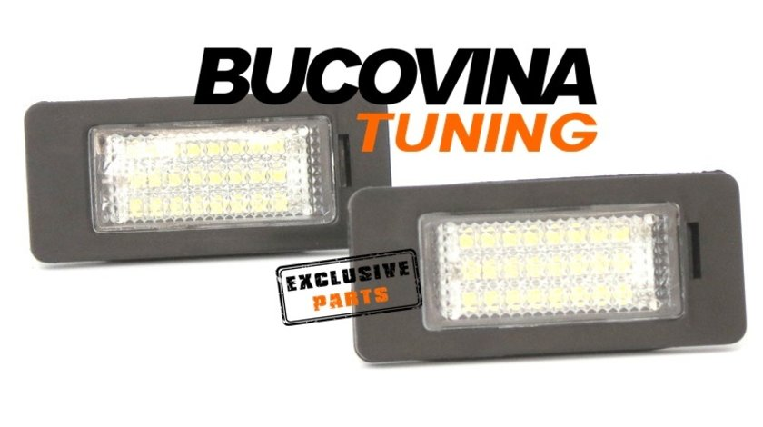 Lampi numar cu LED BMW X3 F25 (11-17)