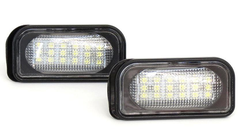 Lampi numar cu LED Mercedes Benz C-Class W203 Limousine (00-07)