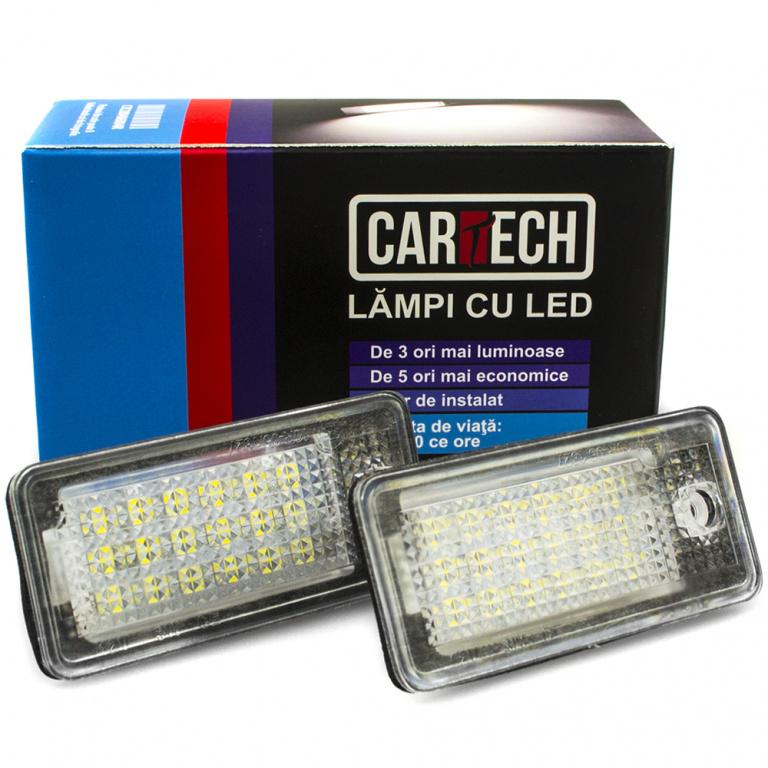 Lampi numar dedicate cu LED Cayenne, VW