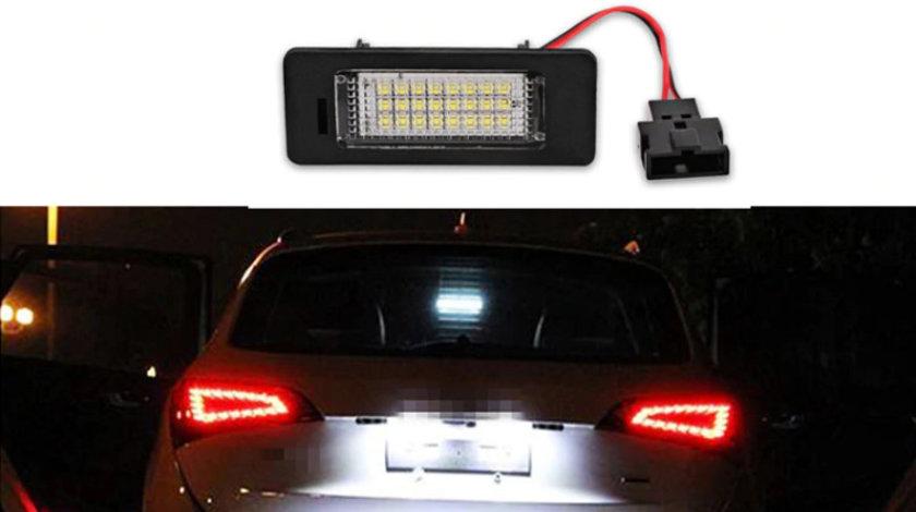 Lampi numar LED Audi A1, A4, A5, A6, S6, A7, S7, Q5, TT