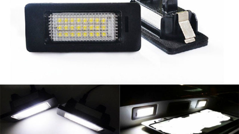 Lampi Numar Led AUDI Q5 A4 B8 A5 TT