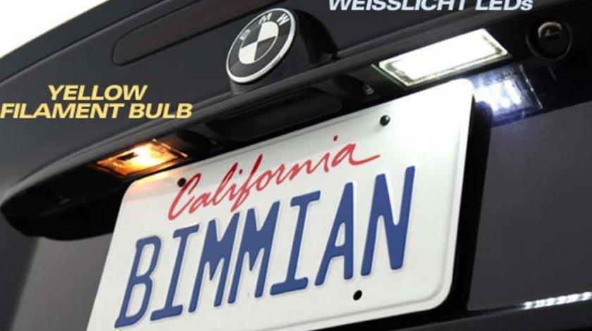 Lampi Numar LED BMW E46 1998 2004 Seria 3 120 RON SETUL