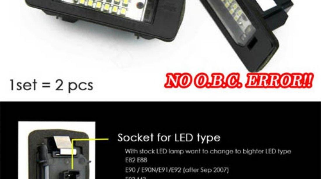Lampi numar led licence SMD pentru BMW e36 si BMW e60 e90 x5 x6 etc