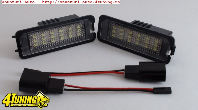 Lampi numar led Vw Golf 4 5 6 Polo Passat Cc