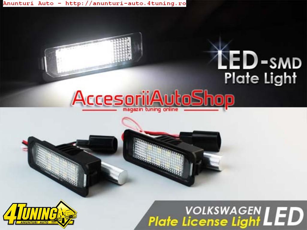 Lampi numar LED VW Passat B5 Passat CC EOS 130 RON SETUL