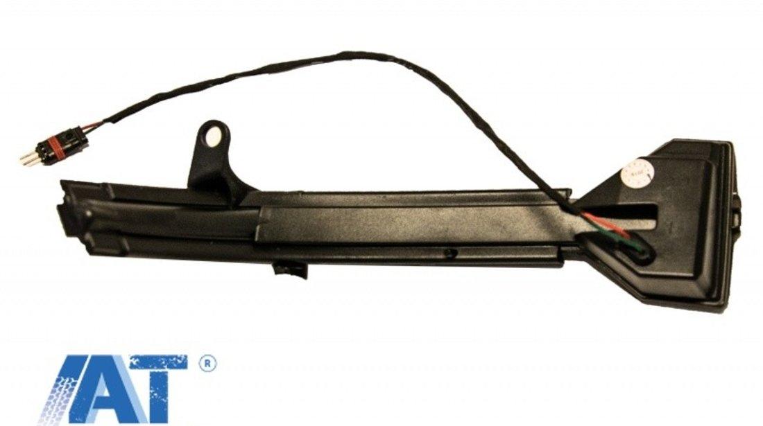 Lampi Semnalizare Dinamica Oglinzi SMOKE LED SEQ compatibil cu BMW 5 F10/ F11/ F07 LCI (2013-2016) 6 F12/ F13/ F06 LCI (2014-2018) 7 F01 LCI (2012-2015 )