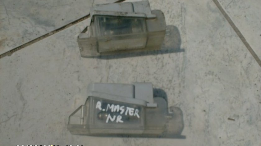 Lampi spate Renault Master