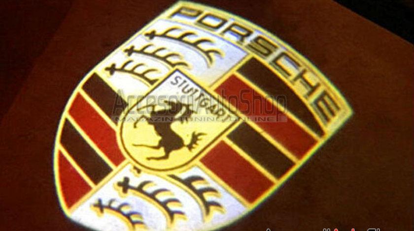 Lampi usi portiere LOGO Porsche Cayenne