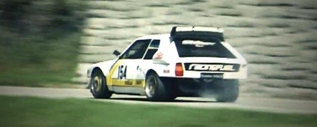 Lancia Delta S4 - numai sunet de motoare turbo