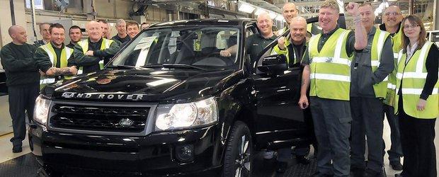 Land Rover a produs exemplarul Freelander 2 cu numarul 300.000